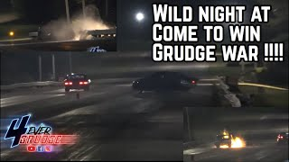 COME TO WIN GRUDGE WAR WILD RIDES !! GLAD THESE DRIVERS WERE OKAY