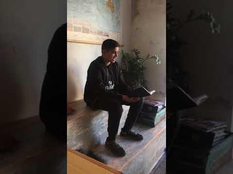 VerdensBørn Grundskole Maj 2018, Poetry Slam, Mohammed Yasin