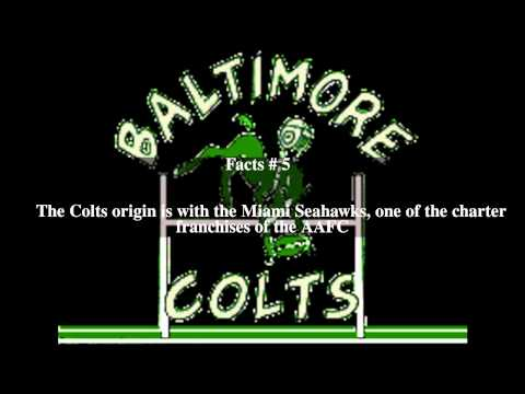 Baltimore Colts (1947–50) Top # 8 Facts