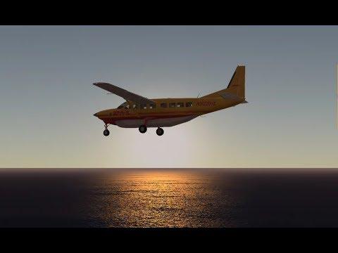 [HD] Infinite Flight Online || TNCM - TNCS || Cessna 208 Grand Caravan de DHL