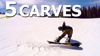 5 Advanced Snowboard Carves On The Never Summer Proto Type 2