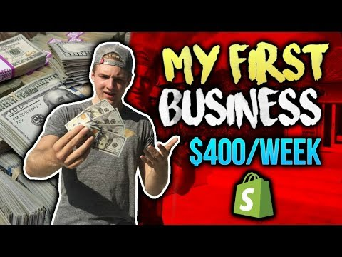 My First Business - $400/Week At Age 12