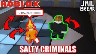 PRO JAILBREAK PLAYER Calls me HACKER!!! | Roblox Jailbreak STARTING OVER