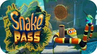 Snake Pass – 3. Dancing Noodle! - Let's Play Snake Pass