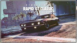 Dewbauchee Rapid GT Classic | Smuggler's Run DLC | Stance Showcase | XB1 | GTAV