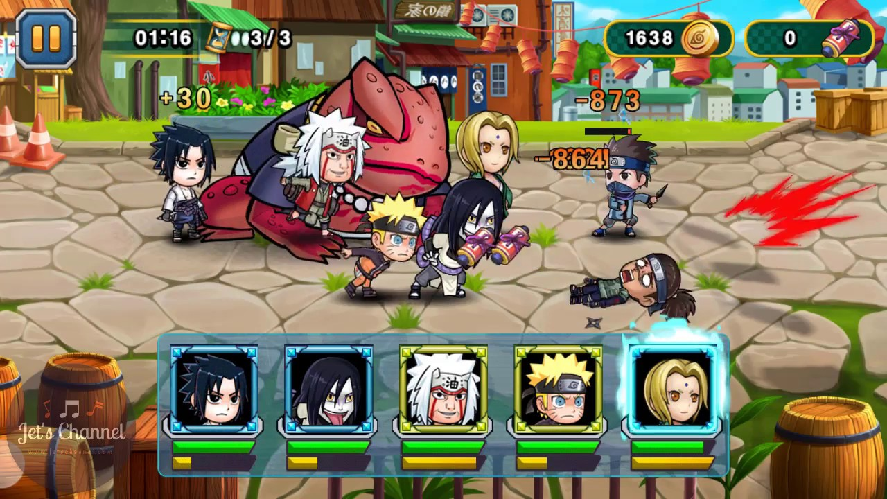 Chapter 1 Konoha Forest Heroic Ninja Rebirth Monster Legend Jet S Channel Youtube