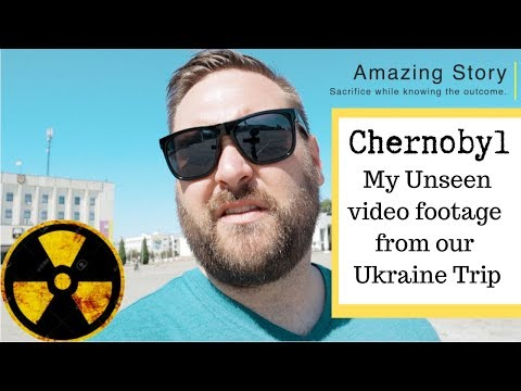 Chernobyl Behind The Scene Video Footage...