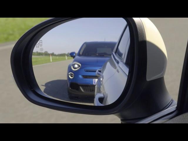 Der neue Fiat 500X – mit Totwinkelwarner