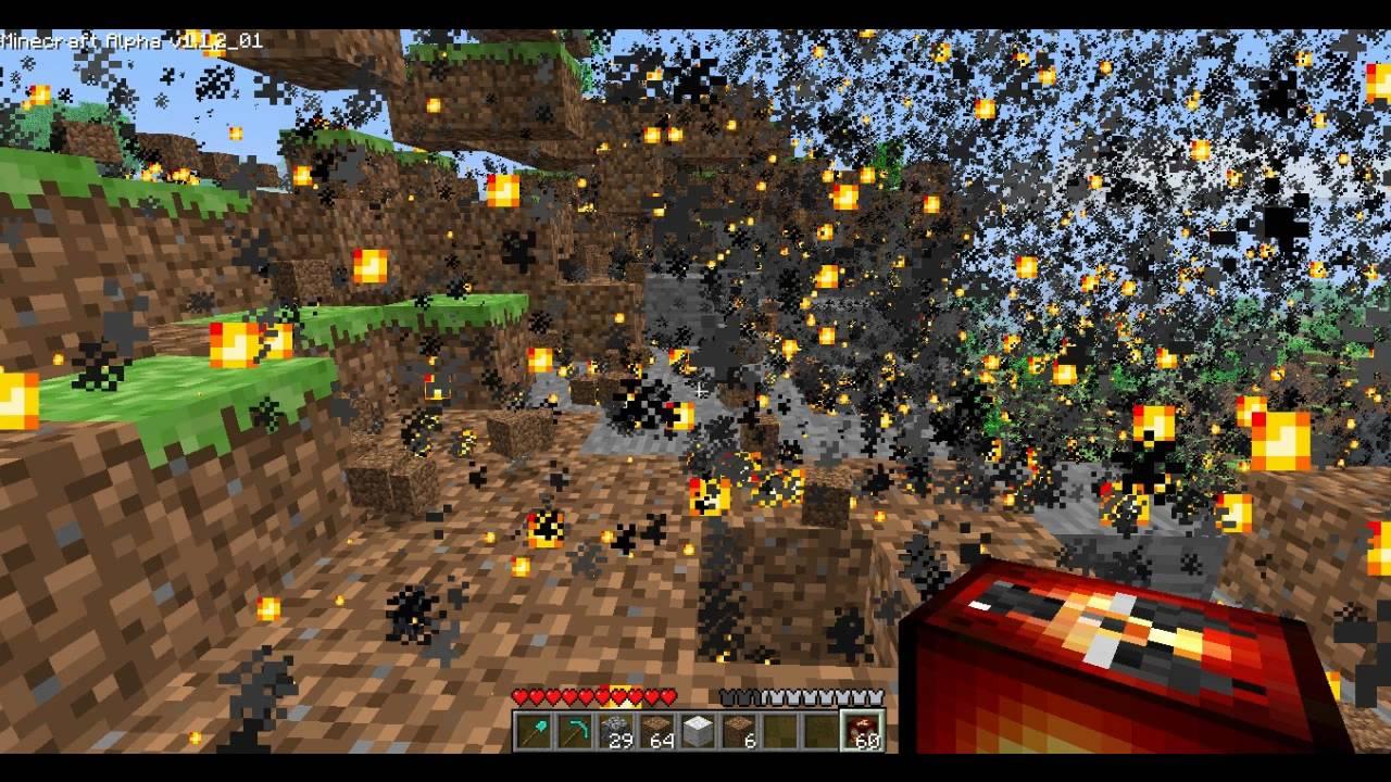 minecraft how to make a nuke no mods