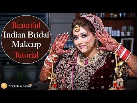 Indian Bridal Makeup Tutorial | Best Indian Bridal Makeup Videos | Tutorials | Krushhh by Konica