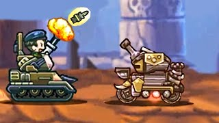 FUNNY TANK BATTLES - Touch Tank Game for Kids