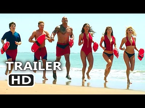 "Thumbnail: BAYWATCH Official ""Slow"" Trailer (2017) Dwayne Johnson, Alexandra Daddario Comedy Movie HD"