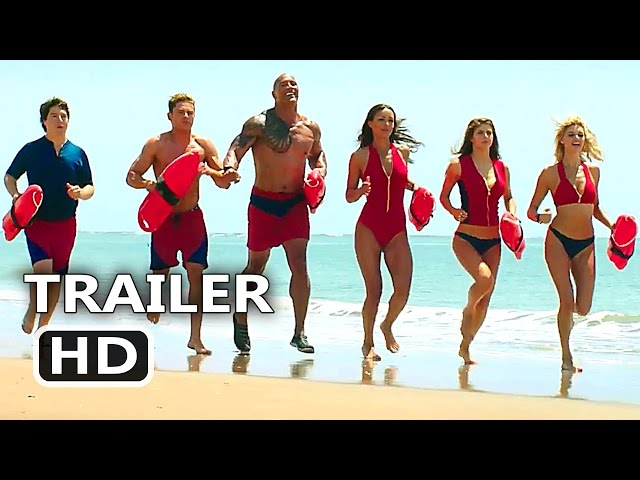 "BAYWATCH Official ""Slow"" Trailer (2017) Dwayne Johnson, Alexandra Daddario Comedy Movie HD"