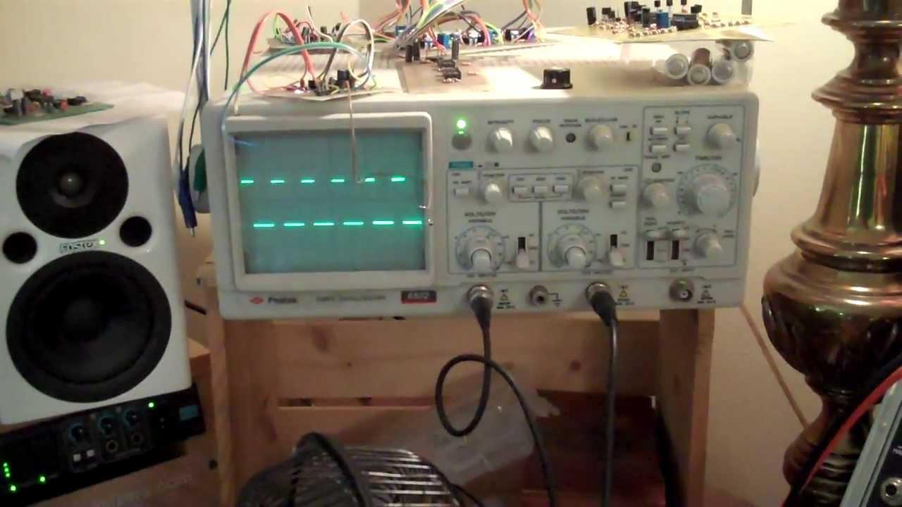 Strange 555 Pulse Width Generator Circuit Sagittronics Charlie Slick