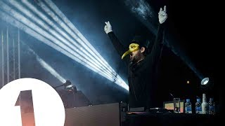 Claptone live at Café Mambo for Radio 1 in Ibiza 2017