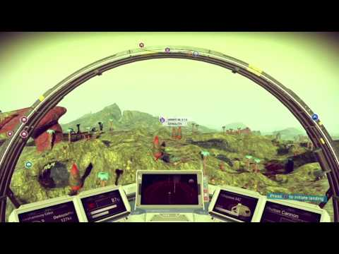 No Man's Sky playthrough pt20 - Flying Whales and Cool Creatures! Nice Planet