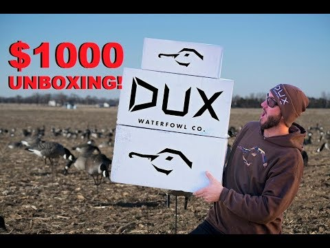 422a7c721 HUGE $1000 DUX GEAR UNBOXING! + GIVEAWAYS and BLACK FRIDAY DISCOUNTS