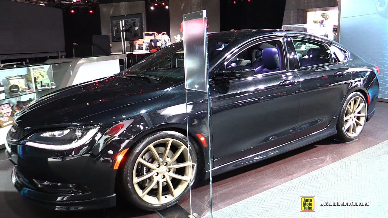 chrysler 200 2015 exterior. 2015 chrysler 200s mopar exterior and interior walkaround detroit auto show 200