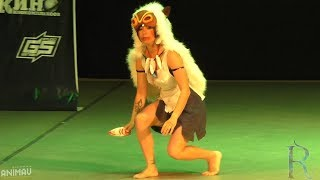 ANIMAU EXPO 2017. MickeyJedi (Уфа): Princess Mononoke - San
