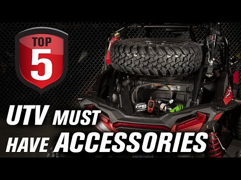 Top 5 UTV Must Have Trail and Off-Road Accessories