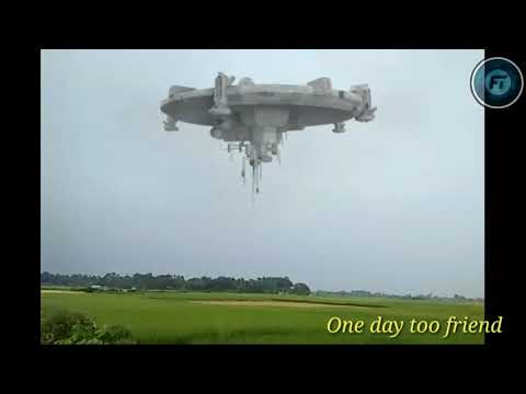 The...Attark..of elien space ship 😱😱😱