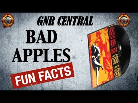 Guns N' Roses: Bad Apples Song Facts and Meaning (Use Your Illusion 1)
