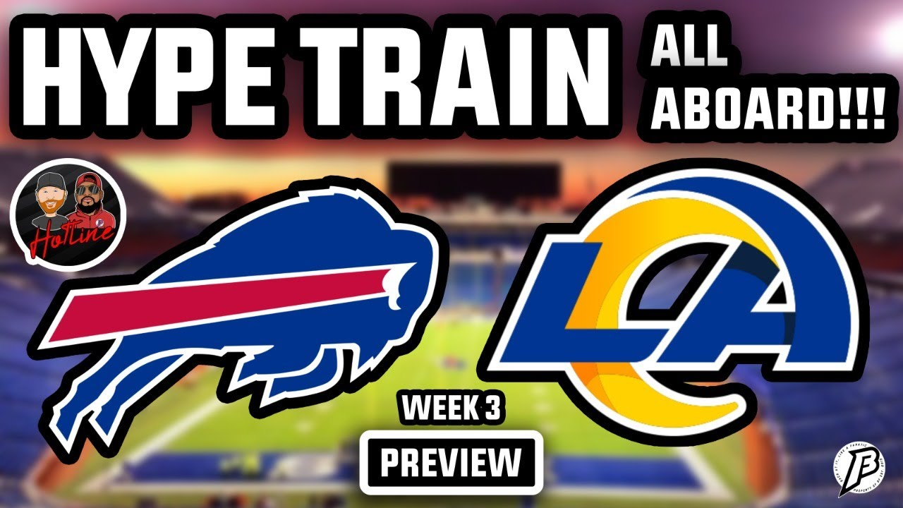 BILLS SQUISH THE FISH! | All Aboard the HYPE TRAIN