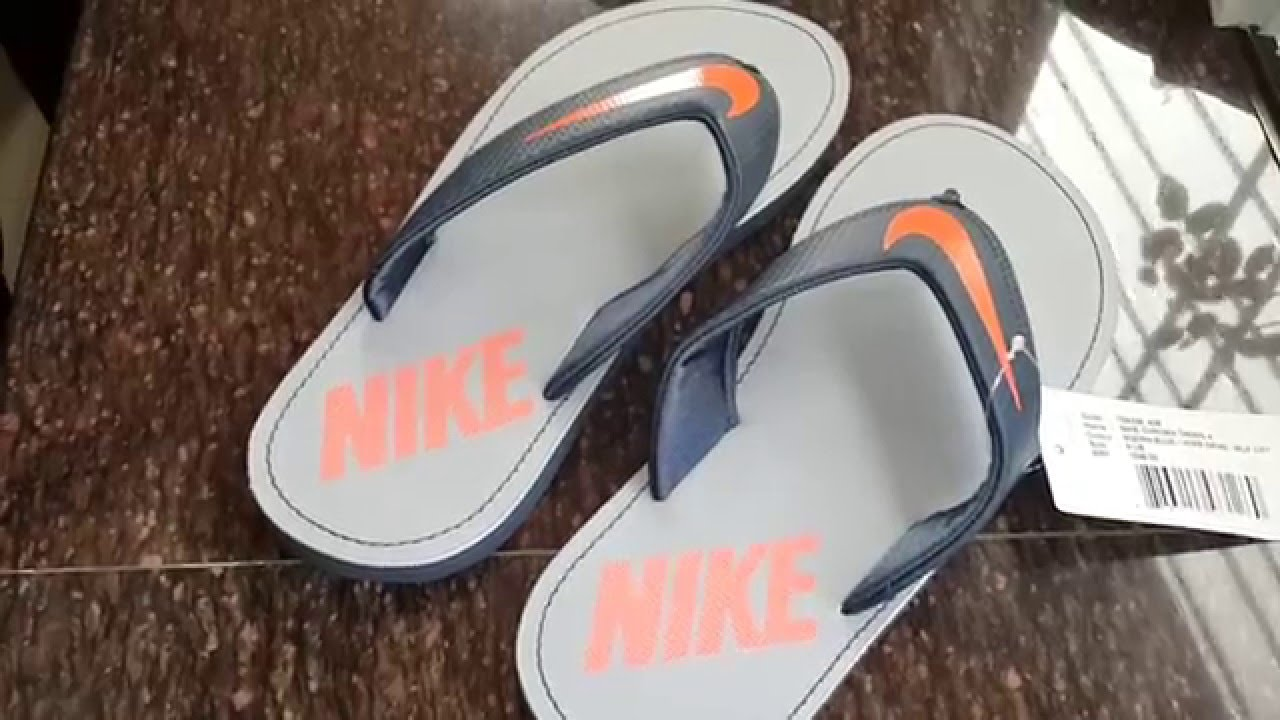 new styles 98bf6 4467a myntra shpng unboxing nike slippers