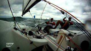2011 SAP 5O5 World Championship: Day 2, Weathering the Storm