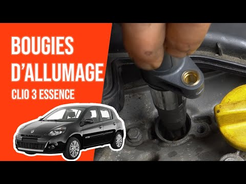 Changer Les Bougies D Allumage Clio 3 1 4 16v Youtube