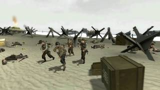 GMOD D-Day Omaha Beach