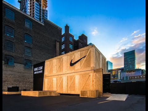 Shipping Containers Customized for Pop-Up Retail Store | Nike.com Live | ASTOUND Group