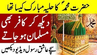 Hazoor SAW ka Huliya Mubarak | Nabi saw ki ziarat | Islam advisor