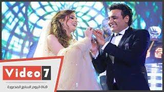 حفل زفاف محمد رحيم وانوسة كوتة مدربة الأسود بحضور نجوم الفن