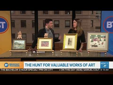Lydia Abbott Stops By Breakfast Television Montreal Ahead of Valuation Day Event