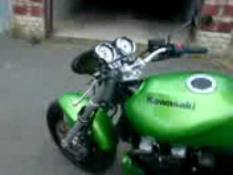 kawasaki zr 7 auspuff exhaust barracuda without db killer. Black Bedroom Furniture Sets. Home Design Ideas