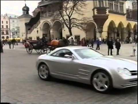 luxury cars z krakowa  MERCEDES SLR MCLAREN REPLICA CZ.3 (fragment programu z niemieckiej ...