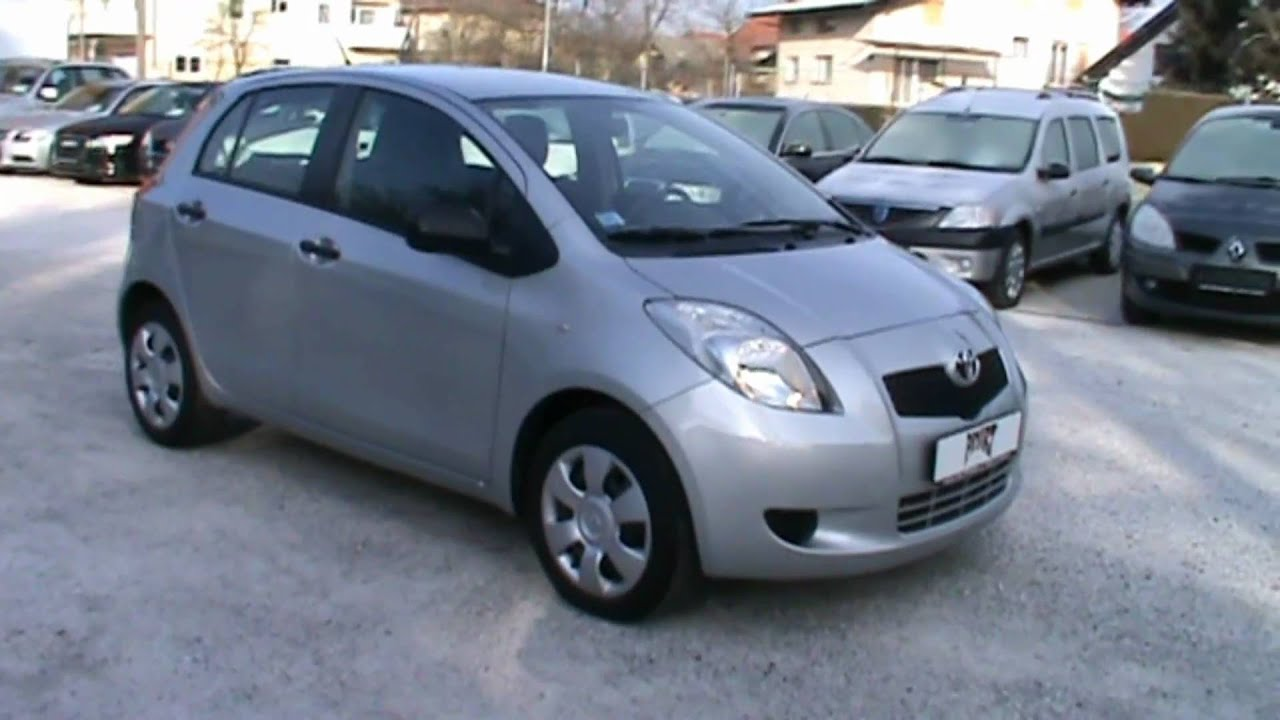 2006 toyota yaris 1 3 vvt i luna full review start up engine and in depth tour youtube. Black Bedroom Furniture Sets. Home Design Ideas