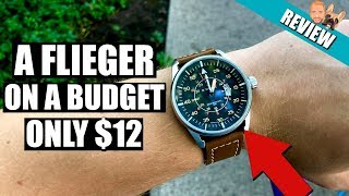Affordable Flieger Pilot Watch Naviforce NF9044 only $11.50 (from GearBest) Review