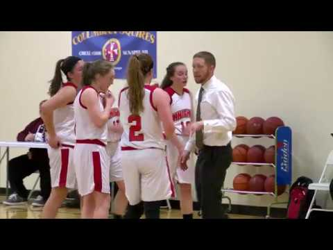 The Mount Royal Academy Knights host the Wilton-Lyndeborough Warriors in Girls Basketball