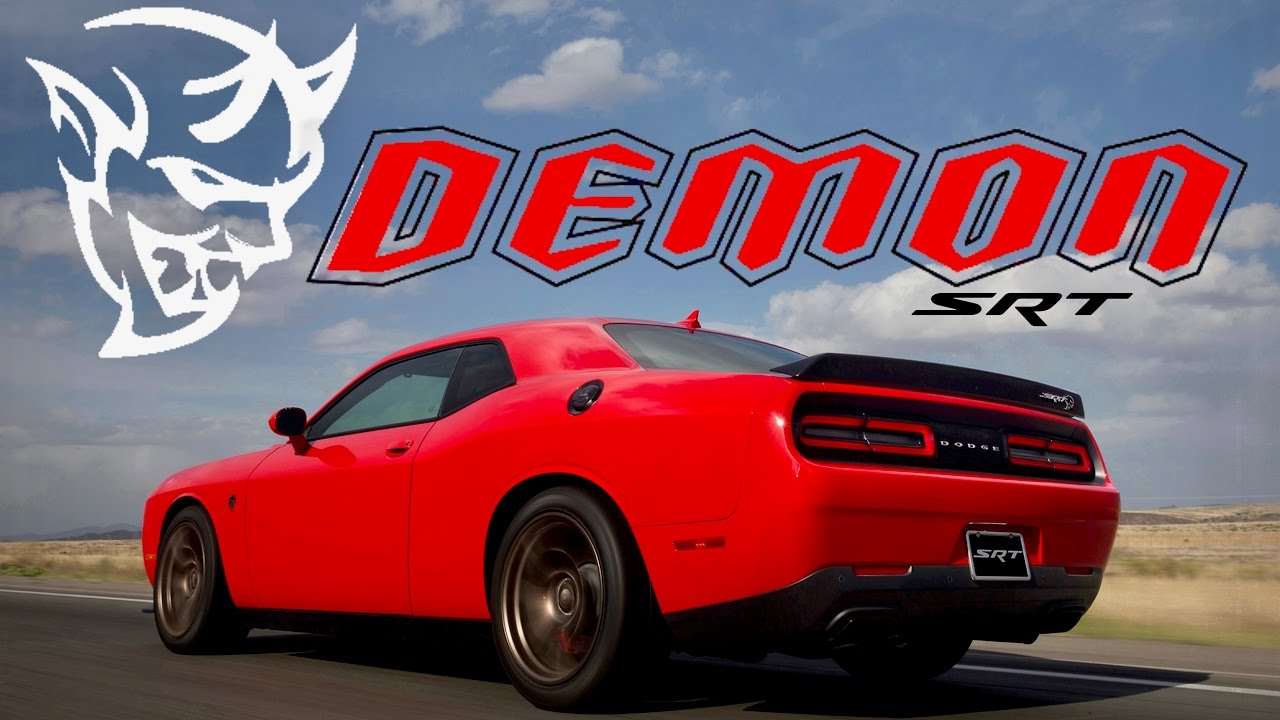 2018 Dodge Demon Hellcat Is Dead Leaked Video What We Know You
