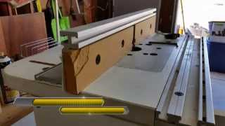 Jointing On The Router Table - Setup