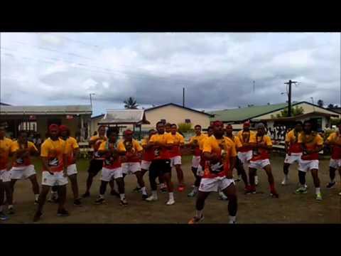 Tonga A team visit RSMS school