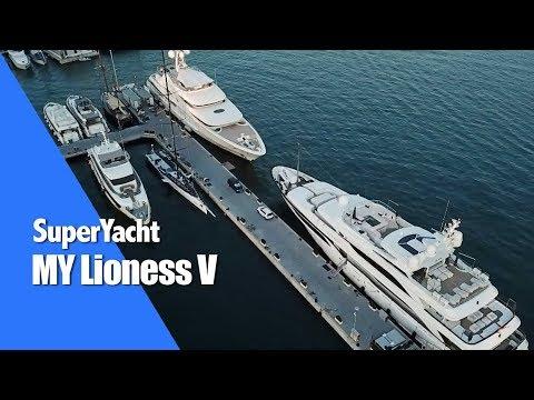 SuperYacht 'Lioness V' in Palma de Mallorca