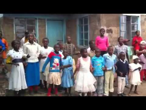 Mweiga orphanage welcomes IBM CSC Kenya Team 2