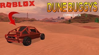 ROBLOX Jail Break || ATV's (Dune Buggy's) Next Update! Coming Soon