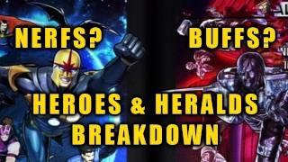 HEROES & HERALDS PATCH BREAKDOWN: Hidden Nerfs & Buffs?