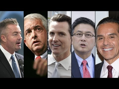 Lt. Gov. Gavin Newsom Maintains Lead In CA Governor's Race, Poll Shows I ABC7
