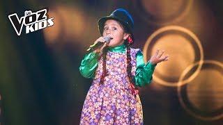 Cover images La Carranguerita canta La Gallina Mellicera - Audiciones a ciegas | La Voz Kids Colombia 2018