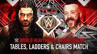 Watch Roman Reigns vs. WWE World Heavyweight Champion Sheamus this Sunday at WWE TLC